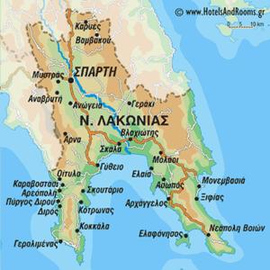 Νομός Λακωνίας